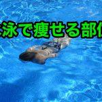 水泳で痩せる部位